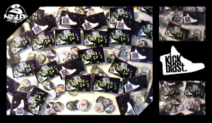 Badges Kickblast Skeud Dealers