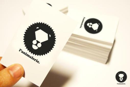 Carte, logo, l'animalerie d'oster lapwass