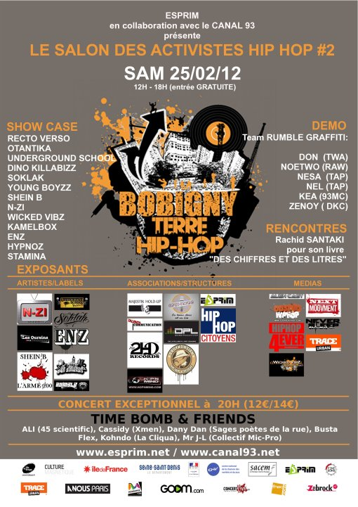 Skeud Dealers salon festival terre activistes hip hop bobigny