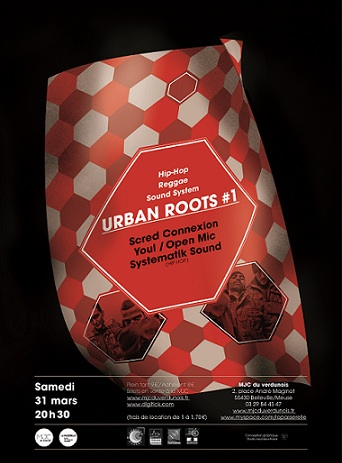 urban roots 1 verdun concert  scred connexion youl meuse skeud dealers rap hip hop