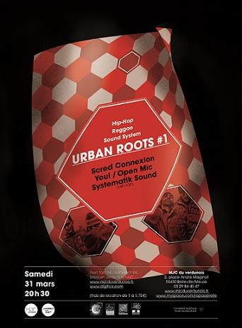 urban roots 1 verdun concert  scred connexion youl meuse skeud dealers rap hip hop