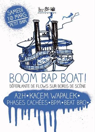 Concert Boom Bap Boat Skeud Dealers