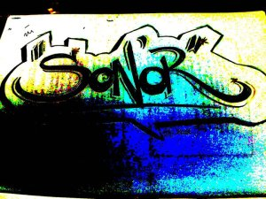 Son'or Blaze blase tag graf logo freestyle de nuit article interview skeud dealers rap hip hop independant underground