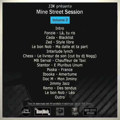 Jim beatmaker mine street vol 2 Pochette album cd ep skeud dealers rap hip hop