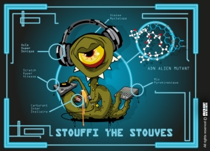 stouffi the stouves, eclectek, lille, hip hop, electro, dubstep, skeud dealers